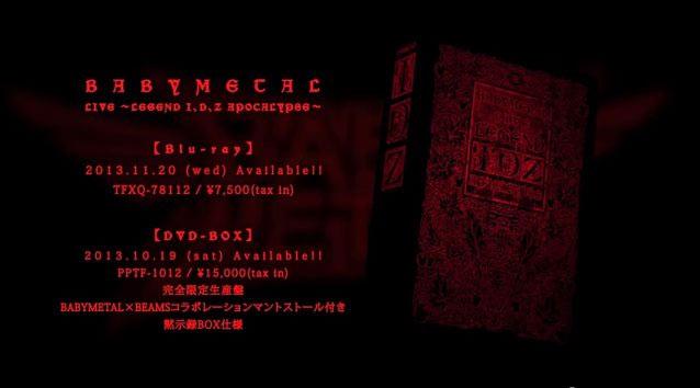 Babymetal-Legend I,D,Z DVD-BOX