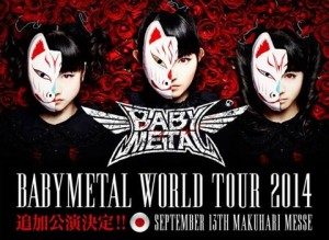 Babymetal live in Chiba