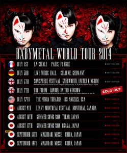 Babymetal World Tour 2014