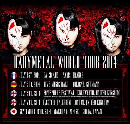 Babymetal-Worldtour