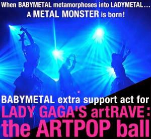 Babymetal Lady-Gaga