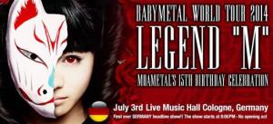 """Babymetal Legend """"M"""""""
