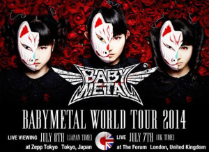 Babymetal-Livestream