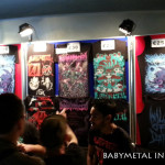 Babymetal in Paris - Merchandise