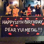 Babymetal in Paris YuiMetal