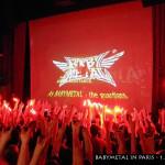 Babymetal in Paris - Das Konzert beginnt