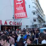 Die Zuschauer verlassen das La Cigale - Babymetal in Paris