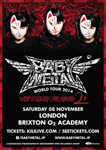 Babymetal live in London