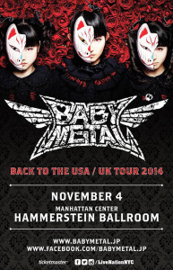 Babymetal New York