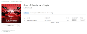 BABYMETAL Road of Resistance Single Download Itunes