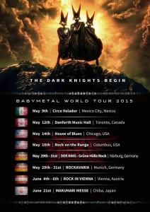 Babymetal Worldtour 2015