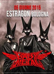 Babymetal live at Estragon Bologna