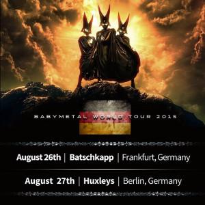 Babymetal in Frankfurt und Berlin