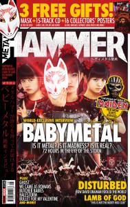 BABYMETAL Metal Hammer Ausgabe 273
