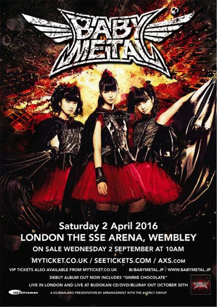 Babymetal in der SSE Arena