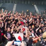 Fotosession - BABYMETAL London, 2nd April 2016 at SSE Arena Wembley