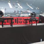 Die Bühne im Innenraum - BABYMETAL London, 2nd April 2016 at SSE Arena Wembley
