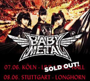 Babymetal Köln ausverkauft