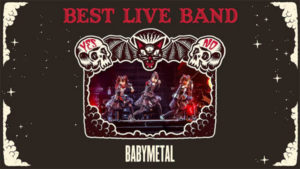 Kerrang best live band award