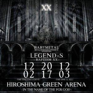LEGEND - S - BAPTISM XX @ Green Arena | Hiroshima-shi | Hiroshima-ken | Japan