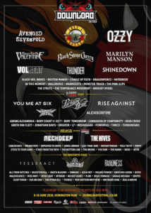 Poster Download Festival 2018
