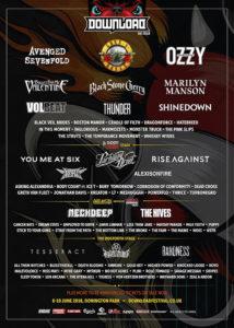 Poster Download Festival 2018