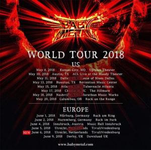 World Tour 2018