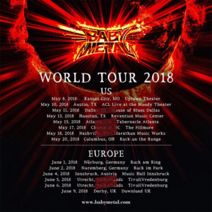 Poster World Tour 2018