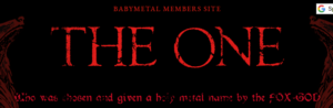 BABYMETAL THE ONE