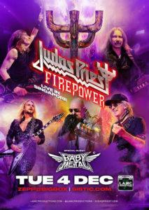 Plakat Judas Priest supp: BABYMETAL