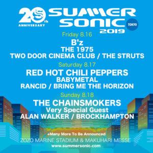 Summer Sonic 2019 @ Zozo Marine Stadium
