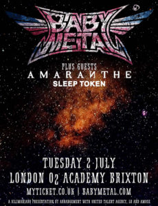 BABYMETAL Live In London @ O2 Brixton Academy