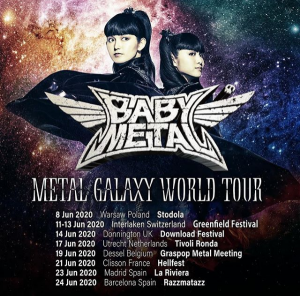 METAL GALAXY WORLD TOUR - Warschau @ Stodola