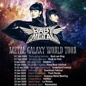 Babymetal Konzerte Juni 2020